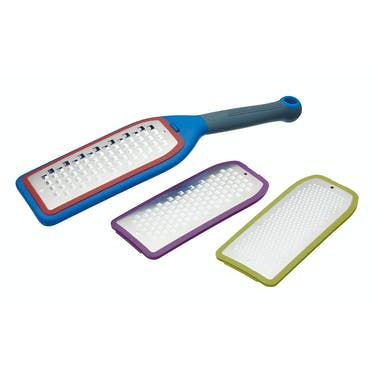 Colourworks Brights Three in One Grater