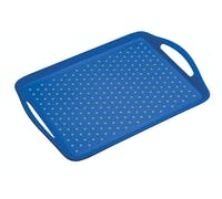 Colourworks Blue Anti-Slip Serving Tray