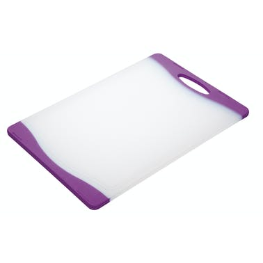 Colourworks Purple Reversible Chopping Board