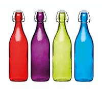 Colourworks Coloured 1 Litre Glass  Bottles