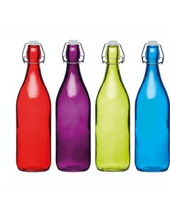 Photo of Colourworks Coloured 1 Litre Glass  Bottles