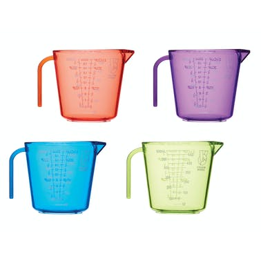Colourworks Brights Set of 4 Measuring Jugs