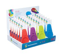 Colourworks Brights Display of 24 Multi Angle Spoon Rests