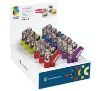 Colourworks Display of 12 Can Openers