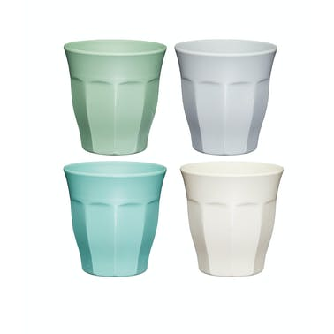 Colourworks Classics Set of Four Melamine Tumblers