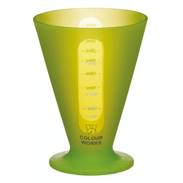Colourworks Brights Green Conical Measure
