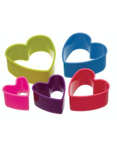 Photo of Colourworks Set of 5 Heart Cookie Cutters