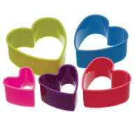 Colourworks Set of 5 Heart Cookie Cutters