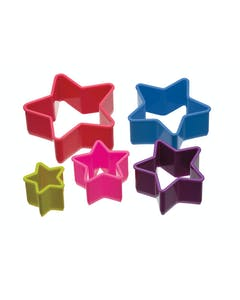 Photo of Colourworks Set of 5 Star Shaped Cookie Cutters