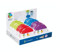 Colourworks Silicone Drinks Covers - Display of 24