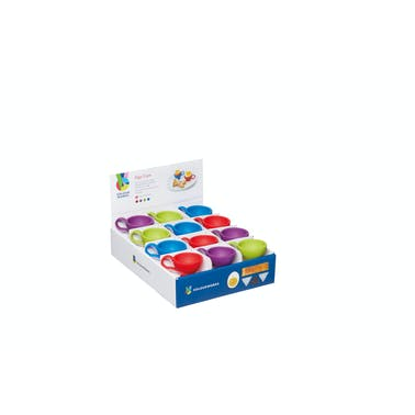 Colourworks Display of 24 Assorted Coloured Silicone Egg Cups