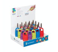 Colourworks Display of 20 Gas Lighters