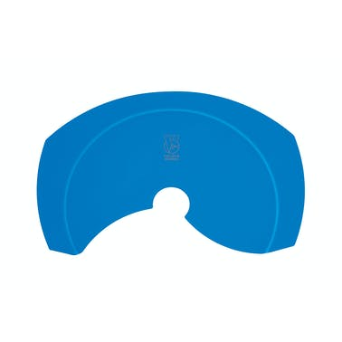 Colourworks Brights Blue Silicone Roll and Fold Funnel