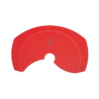 Colourworks Brights Red Silicone Roll and Fold Funnel
