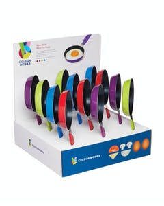 Photo of Colourworks Display of 12 Mini Frypans