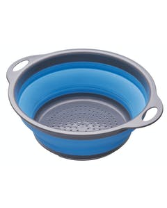Photo of Colourworks Blue Collapsible Colander with Handles