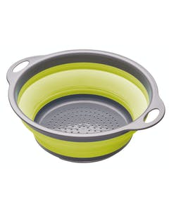 Photo of Colourworks Green Collapsible Colander with Handles