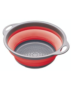 Photo of Colourworks Red Collapsible Colander with Handles