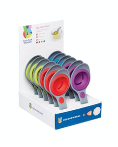 Photo of Colourworks Display of 12 Silicone Egg Separators