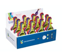 Colourworks Display of 12 Measuring Scoop Sets
