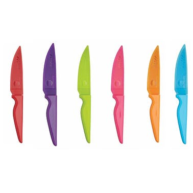 Colourworks Paring Knife with Protective Case