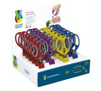 Colourworks Display of 24 Kitchen Scissors