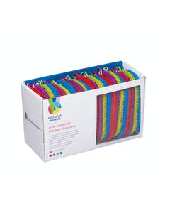 Photo of Colourworks Brights Display of 24 Anti-Bacterial Kitchen Scourers