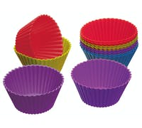 Colourworks Pack of 12 Silicone Cupcake Cases