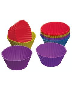 Photo of Lot de 12 caissettes à cupcake en silicone