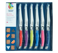 Colourworks 6 Piece Steak Knife Set