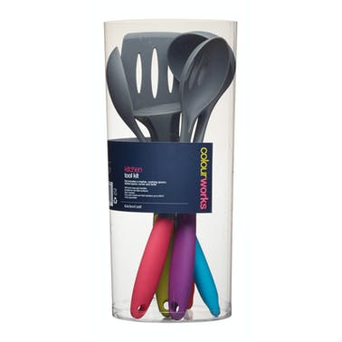 Colourworks 5 Piece Soft Touch Kitchen Tool Kit