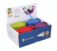 Colourworks Display of 24 Silicone Tea Bag / Spoon Rests