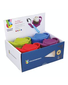 Photo of Colourworks Display of 24 Silicone Tea Bag / Spoon Rests