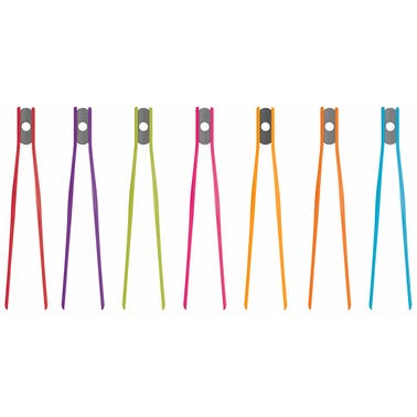 Colourworks Silicone Tweezer Tongs