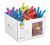 Colourworks Brights Display of 24 Silicone Utensil Pan Clips