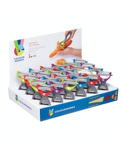 Photo of Colourworks Display of 24 Two in One Peelers