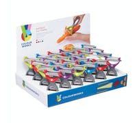 Colourworks Display of 24 Two in One Peelers