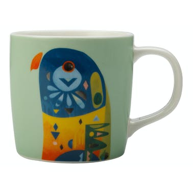 Maxwell & Williams Pete Cromer 375ml Mug Lorikeet