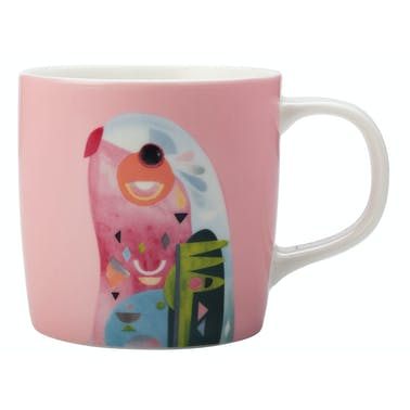 Maxwell & Williams Pete Cromer 375ml Mug Parrot