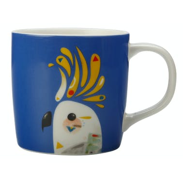 Maxwell & Williams Pete Cromer 375ml Mug Cockatoo