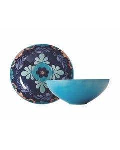 Photo of Maxwell & Williams Majolica 31cm Round Blue Bowl