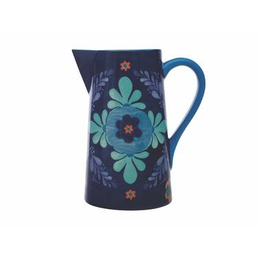 Maxwell & Williams Majolica 2.4 Litre Blue Pitcher