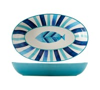 Maxwell & Williams Reef 42cm Oval Serving Bowl