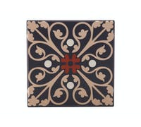 Maxwell & Williams Medina Fes 9cm Ceramic Square Tile Coaster