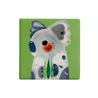 Maxwell & Williams Pete Cromer Ceramic Square 9.5cm Coaster Koala
