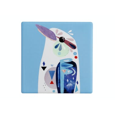 Maxwell & Williams Pete Cromer Ceramic Square 9.5cm Coaster Kookaburra