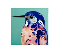 Maxwell & Williams Pete Cromer Azure KingFisher Trivet