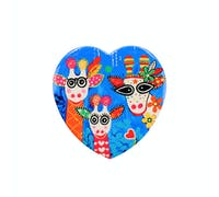 Maxwell & Williams Love Hearts Ceramic 10cm Mr Gee Family Family Square Coaster
