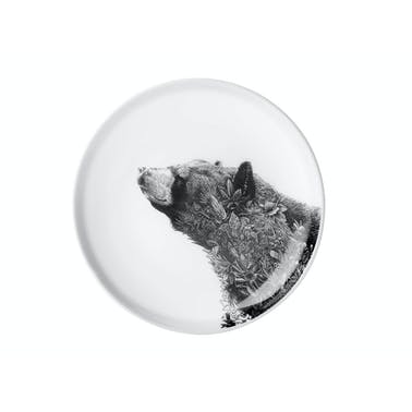 Maxwell & Williams Marini Ferlazzo Black Bear 20cm Plate