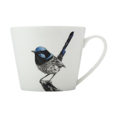 Maxwell & Williams Marini Ferlazzo 450ml Superb Fairy-wren Squat Mug